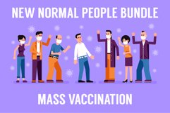 New Normal and People Vaccination Product Image 1