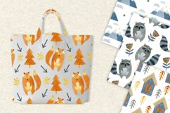 Watercolor forest friends graphic collection. Product Image 4
