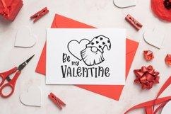 Valentine gnomes svg Be my valentine svg cut file Gnome svg Product Image 3
