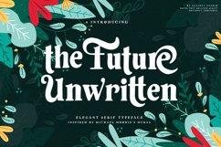 Future Unwritten - Elegant Serif Product Image 1