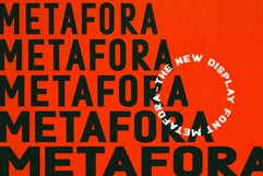 Metafora Sans - Variable Font Family Product Image 2