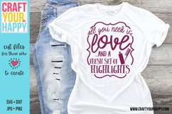 All You Need Is Love And Fresh Set Of Highlights - Cut File Product Image 1