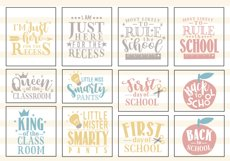 Back To School SVG Cut File Bundle Product Image 3