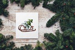 Christmas,Snow Globe,Christmas tree,Sublimation,Watercolor Product Image 4