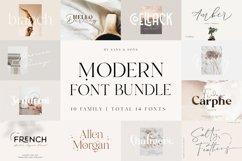 Modern Font Bundle Product Image 1