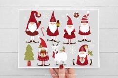 Scandinavian Christmas Gnome Clipart - Vector Clip Art & SVG Product Image 3