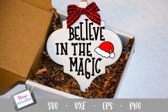 Christmas Ornament Bundle - 6 Arabesque Ornament SVG Designs Product Image 2