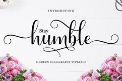 Humble Script Product Image 1