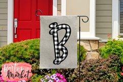 Buffalo Plaid Alphabet for Sublimation Product Image 2