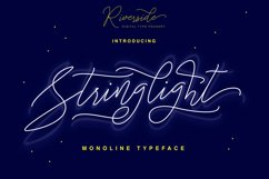 Stringlight Typeface Product Image 1