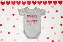 Mommy & Daddy's Little Valentine   Valentines Day SVG Bundle Product Image 3