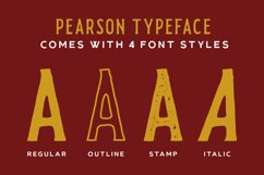 Pearson Typeface- 4 Fonts! & EXTRA Product Image 3