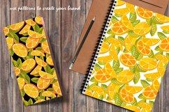 Orange juice patterns and frames Product Image 6