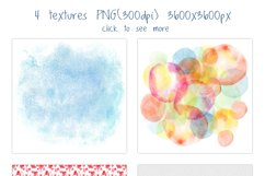 Romantic watercolor set. Love is in the air Product Image 6