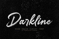 Darkline Brush Script Font Product Image 1