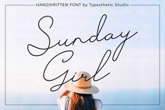 Sunday Girl Handwritten Script Product Image 1