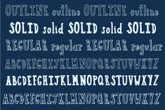 Boston Cream Serif and Sans Web Font Product Image 6