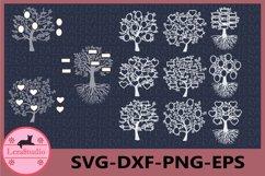 Family Tree SVG, Tree Vinyl Decal, Tree Cut Files Product Image 1