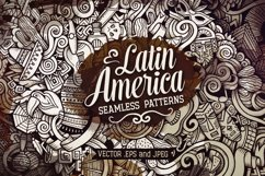 Latin America Graphics Doodle Patterns Product Image 1