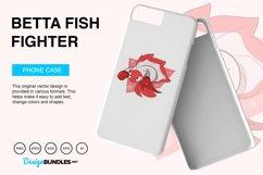 Betta Fish Fighter Vector Illustration Product Image 5