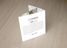Wedding Planner Square Trifold Brochure Product Image 6