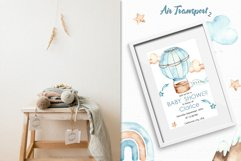 Air transport 2. Watercolor clipart Product Image 3