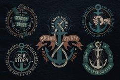 Anchor retro logo templates Product Image 5