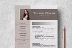 Resume Template   CV Cover Letter - Elizabeth Williams Product Image 3