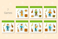 Musical Instruments Activities for kids. Product Image 4