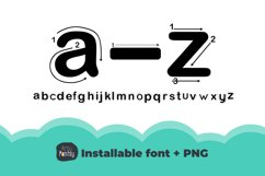 Artsy Regular Alphabet Tracing - Fonts for Teachers Product Image 4