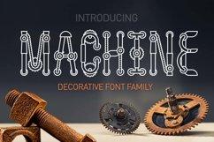 Machine font family Product Image 1