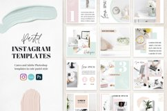 Canva Instagram Templates Pastel Product Image 1