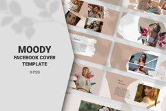 Moody Facebook Cover Templates Product Image 1