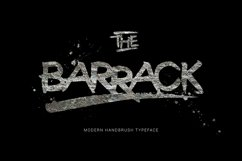 The Barrack Typeface Product Image 1