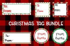 6 Christmas Tag Bundle - JPG & PNG Product Image 1