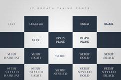 Kavo Family - 17 fonts 24 logos Product Image 2