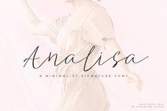 Analisa - Minimalist Font Product Image 1