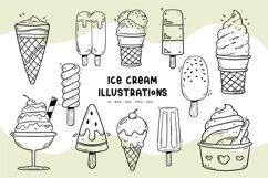Ice Cream illustrations Product Image 1