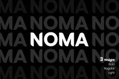 NOMA Sans Serif Font Product Image 1