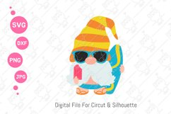 Gnomes Summer svg | Beach Gnomes |svg png dxf Product Image 4