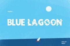 Blue Lagoon font Product Image 1
