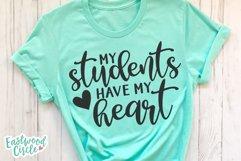 Teacher Shirt SVG Bundle - Back to School Cut Files Product Image 6