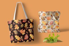 Autumn leaves, watercolor Product Image 3