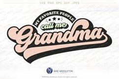 My Favorite People Call Me Grandma Product Image 1