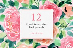 4 in 1 - Floral Watercolor Graphic Bundle Product Image 2