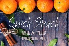 Quick Snack Script Latin & Cyrillic Product Image 1