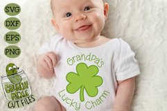Grandpa's Lucky Charm - St Patrick's Day SVG File Product Image 1