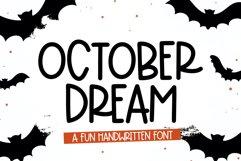 October Dream - A Fun Handwritten Font Product Image 1