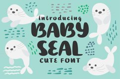 Baby Seal Font Product Image 1