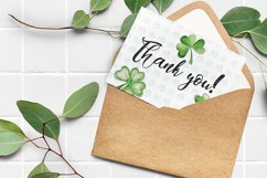 Clover. Watercolor set. PNG, JPG Product Image 10